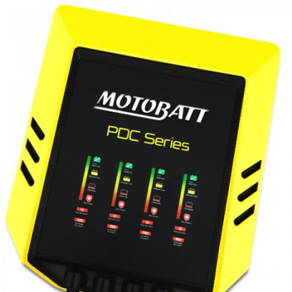 Motobatt PDC Series Battery Charger Quad Bank