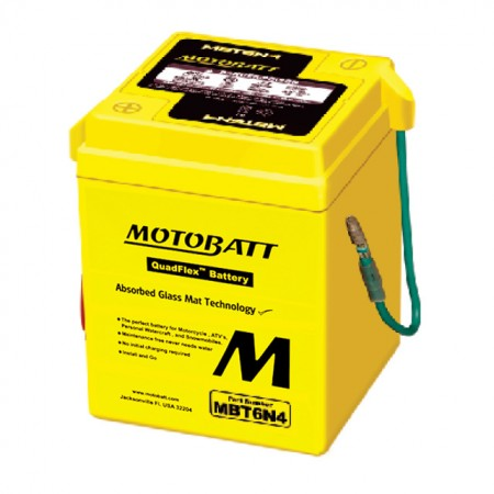Motorcycle Battery MBT6N4
