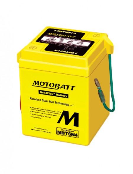 Motorcycle Battery MBT6N4