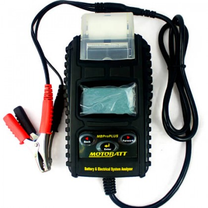 MotoBatt 6-12V Pro PLUS Electronic Battery and System Tester