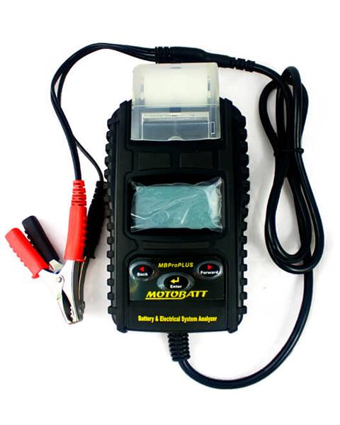 MotoBatt 6 12V Pro PLUS Electronic Battery and System Tester