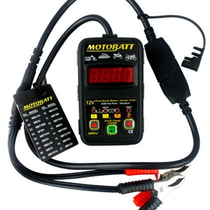 MotoBatt Mini Electronic Battery And System Tester
