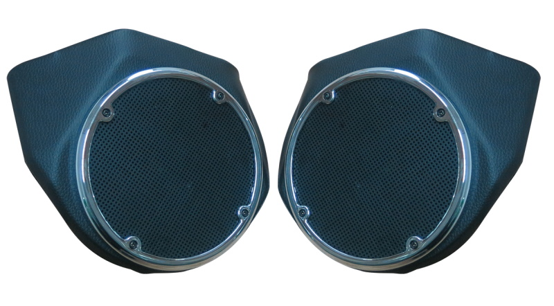 38.CFP HL1584 101 Tour Pak Rear Speaker Pods For Touring street glide Road King 2014 2016 1