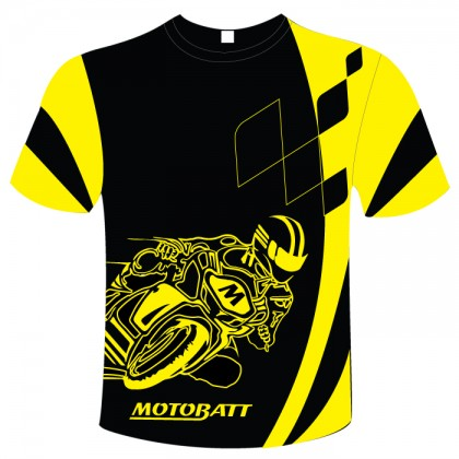 Motobatt Tshirt Rider Design