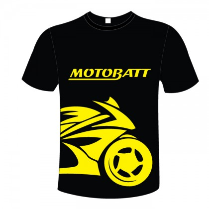 Motobatt Tshirt Bike Design