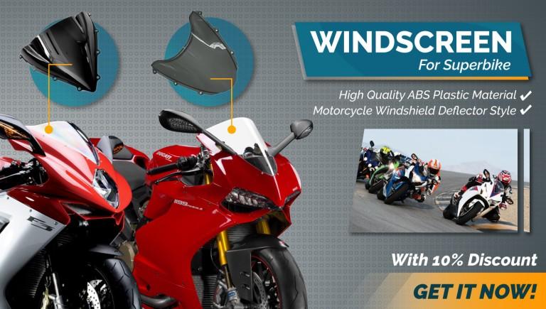 Windscreen EDM 1500x850