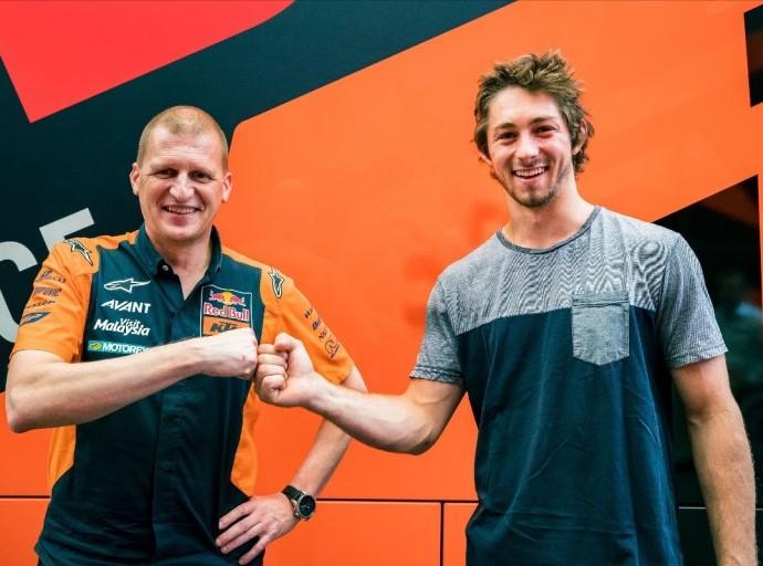 Aussie Remy Gardner Joins Motobatt Sponsored Ajo Motorsport Team
